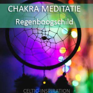Download Chakra Meditatie Regenboogschild